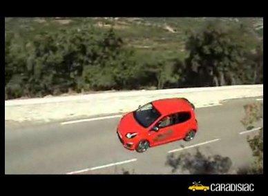 Vidéo : PaNic à bord ... de la Renault Twingo RS Cup