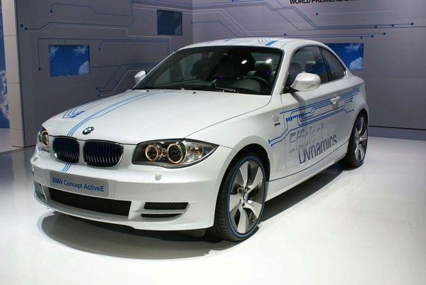 Detroit 2010 : BMW ActiveE Concept, Serie 1 électrique
