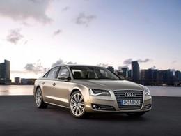 Audi : l'A8 hybride en entrée de gamme