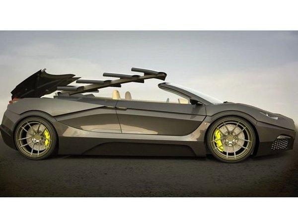 La Savage Rivale Roadyacht GTS et son toit rétractable télescopique