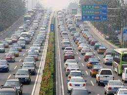 """Le marché automobile chinois """"ralentit"""" en juillet"""