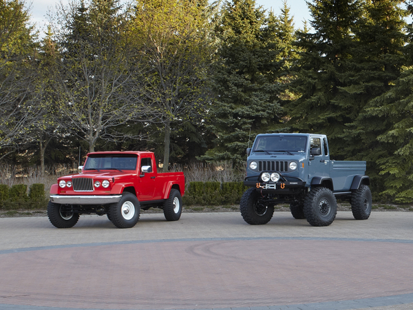 6 concepts Jeep pour le Moab Easter Safari : Mighty FC et J-12 rendent les fans fous !