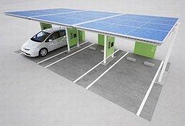 Autos électriques et hybrides : une station de recharge solaire signée Toyota Industries Corporation