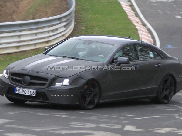 Spyshot : future Mercedes CLS AMG