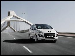 Salon de Genève - Peugeot 3008 HYbrid4 Limited Edition: 41500 euros