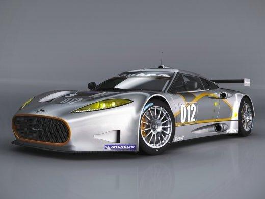 Spyker C8 Aileron GT: pour la compétition