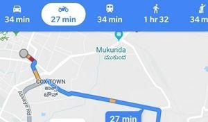 Pratique : Google maps propose un mode moto