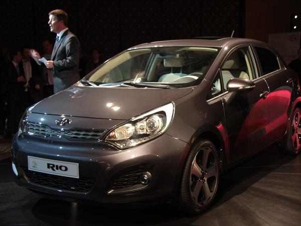 En direct de Genève 2011 : Kia Rio (photos et vidéos)