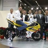 Superbike: La photo de famille de Loïc Napoleone