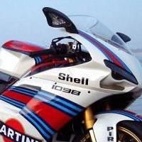 Ducati - Insolite: Une 1 098S on the rocks !