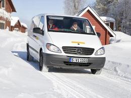 Le Mercedes Vito électrique testé en Suède