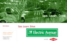 Salon de Détroit 2010 : l'Electric Avenue, grande exposition consacrée aux véhicules électriques