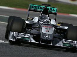 F1 - Changement de châssis pour Michael Schumacher, Ross Brawn étonné par ses mauvaises performances