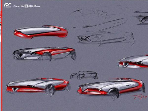 Alfa Romeo disparaît mystérieusement du projet digital Vision Gran Turismo