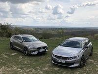 Comparatif vidéo - Volvo V60 vs Peugeot 508 SW : le lion dans l'arène