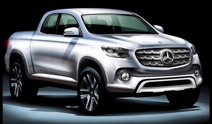 Mercedes le pickup d voil dans quelques jours for Garage nissan le plus proche