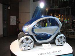 Le Concept électrique Renault Twizy Z.E. débarque en Inde !