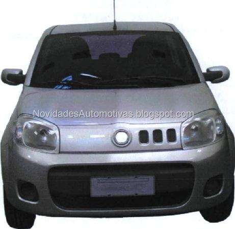Future Fiat Uno do Brazil : c'est elle