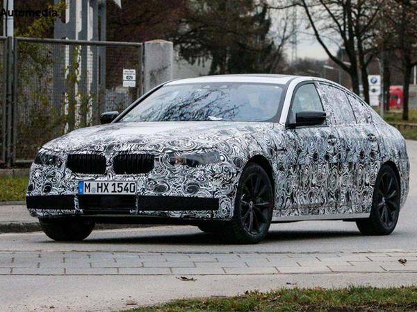 La future BMW Série 5 surprise sur la route
