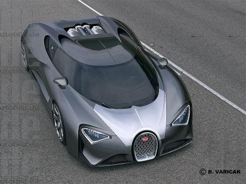 Bugatti : une Veyron modifiée pour patienter jusqu'à la Chiron ?