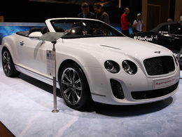 En direct de Genève : Bentley Continental GTC Supersports Ice Speed Record, pour briser la glace