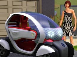 Jeux vidéo : les Sims 3 adoptent des Renault électriques !