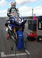 Championnat de France Superbike - Magali Langloi réussi un bon week-end