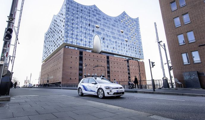 Volkswagen teste une Golf 100% autonome en Allemagne
