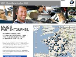 BMW vous propose de participer à son EfficientDynamics Tour 2010