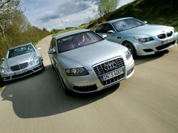 Marché Premium Europe : Audi terrasse Mercedes et BMW