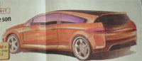 La future Peugeot 608 et ses dérivés vus par L'argus