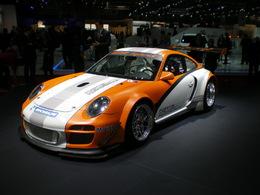 Genève 2011: Ambiance feutrée chez Porsche.