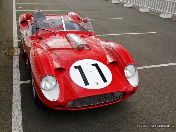 Photos du jour : Ferrari 250 Testa Rossa 59-60-0774TR (Le Mans Classic)