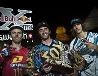 Red-Bull X-Fighters : Adam Jones s'impose devant le Sphinx !