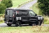 Futur Fiat Doblo surpris en test