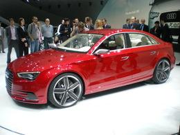 En direct de Genève: L'Audi A3 Concept se dévoile  (+ vidéo)