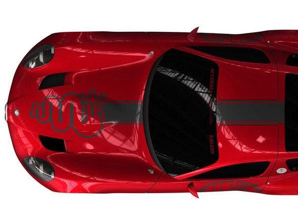 Villa d'Este : l'Alfa Roméo Zagato TZ3 Corsa se dévoile