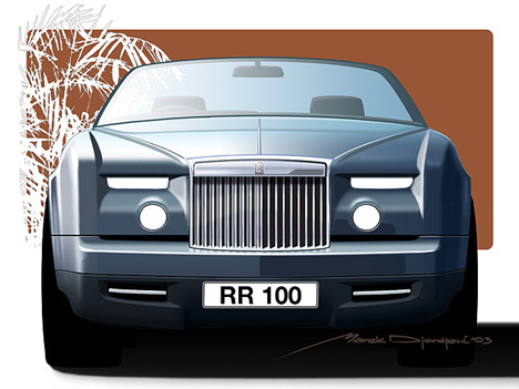 Une nouvelle Rolls Royce Phantom en 2016