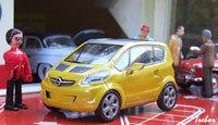 Miniature : 1/43ème - OPEL concept-car Trixx