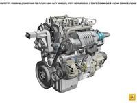 Renault présente un prototype de moteur diesel deux temps