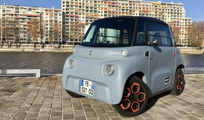 Vidéo - La Citroën AMI jusqu'à la panne : jusqu'où ira la petite électrique à 6 000 € ?
