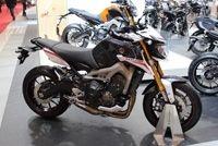 En direct du salon de moto 2013: Yamaha MT-09 Street Rally
