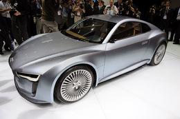 Salon de Détroit 2010 : une nouvelle version de l'Audi e-tron électrique
