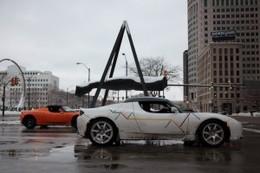 Nouveau défi relevé pour le Tesla Roadster électrique : un road trip de Los Angeles à Détroit