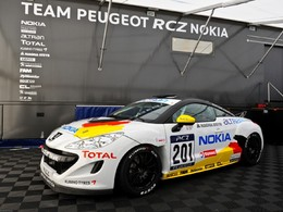Peugeot RCZ: du diesel à l'essence en VLN!