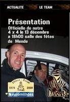 Laurent Charbonnel et Kiki Boulet font le Dakar