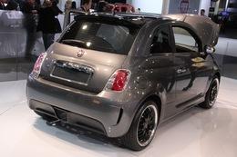 Salon de Détroit 2010 : une version 100% électrique de la Fiat 500 Abarth !