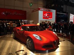 Alfa Romeo 4C en direct de Genève
