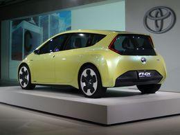 Salon de Détroit 2010 : le nouveau Concept hybride Toyota FT-CH