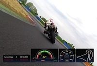 Rider's E-Novation 3DMS: performances, angles, chronos... dans la boite